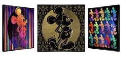 Luxurious Mouse by Patrick Rubinstein - Kinetic sized 38x38 inches. Available from Whitewall Galleries